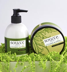 Source Verite Cucumber & Melon Spa Set