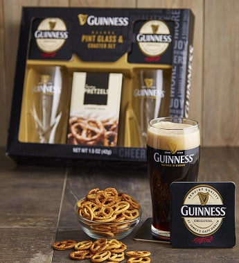 Guinness® Pint Glass & Coaster Set