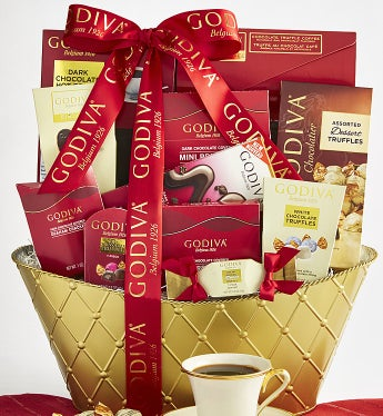 Godiva Valentine Chocolates Basket - Godiva Valentine Chocolates Basket - Supreme