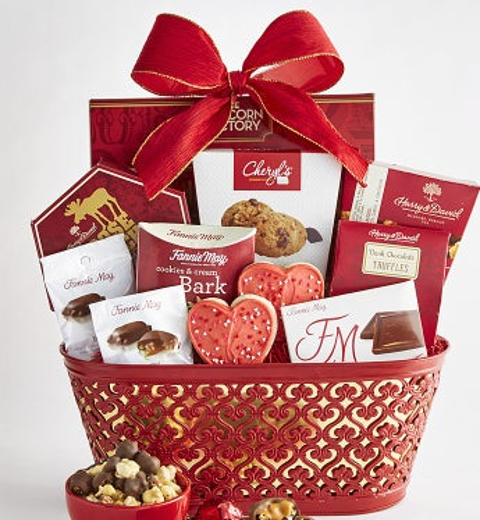 True Love Valentine Gift Basket - True Love Valentine Gift Basket - Grande