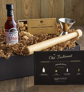 The Quintessential Old Fashioned Cocktail Kit
