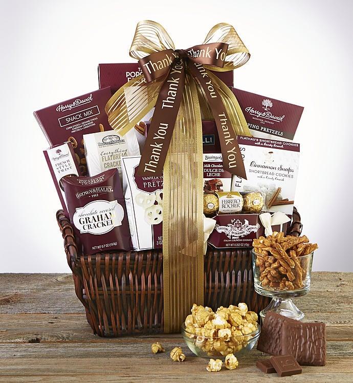 Thank You! Deluxe Balsam Gift Basket - Thank You! Grande Balsam Gift Basket