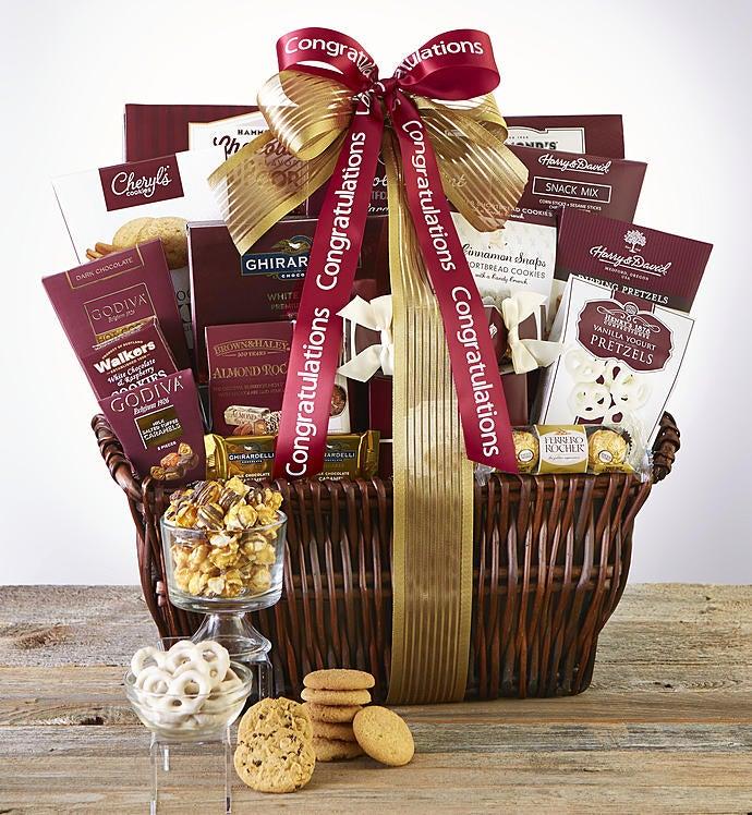 Congratulations Deluxe Balsam Gift Basket