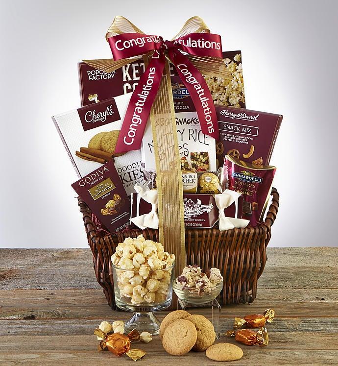 Congratulations deluxe balsam gift basket deluxe balsam gift basket negle Image collections