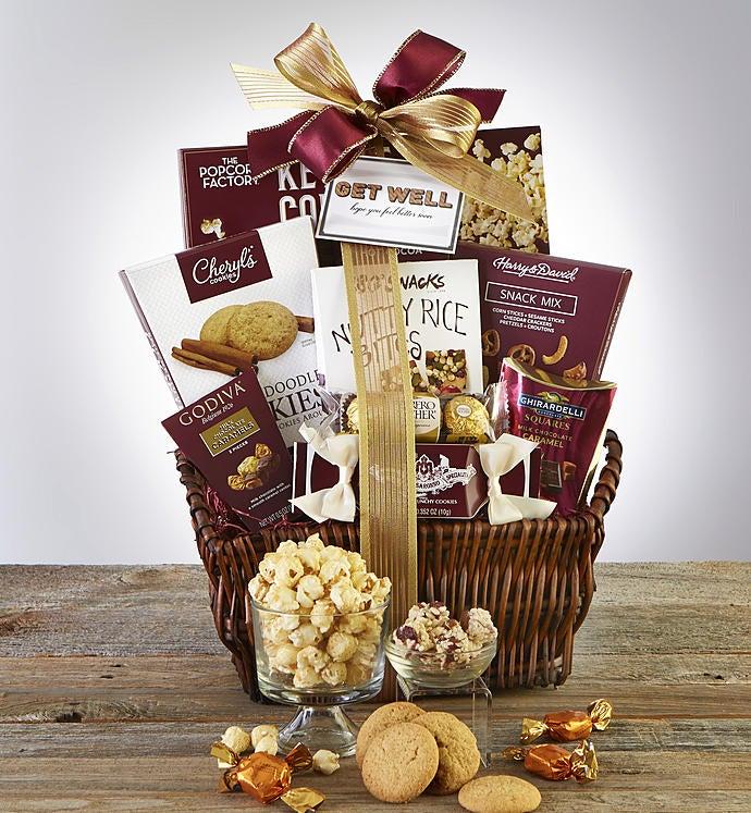 Get Well Soon Deluxe Balsam Gift Basket
