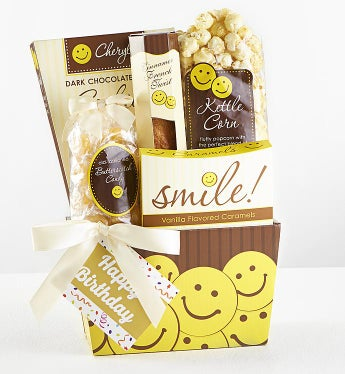 Smile! It's Your Birthday! Gift Basket-Smile! It's Your Birthday! Gift Basket