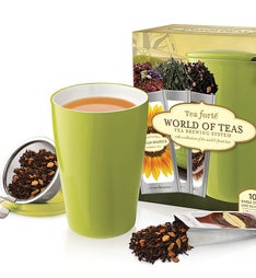 Tea Forte® Kati Cup & Single Steeps Tea Gift Set