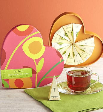 Tea Forte® Teas From The Heart 12 Count Box - Tea Forte® Teas From The Heart 12 Count Box