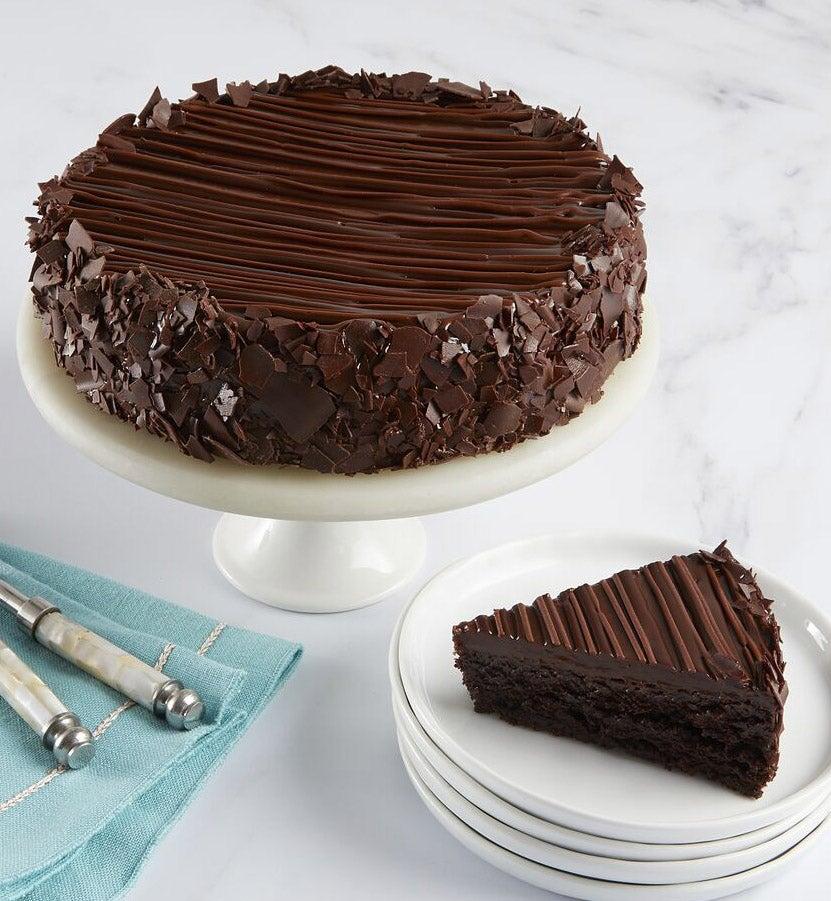 Bake Me A Wish Triple Chocolate Brownie Cake