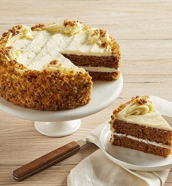 Bake Me A Wish Carrot Cake
