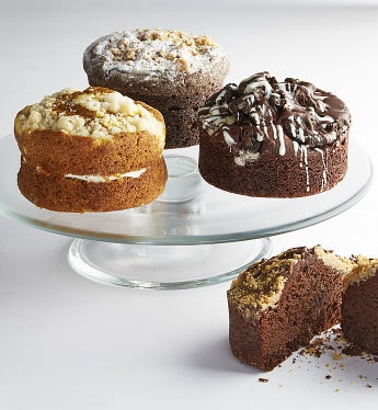 Bake Me A Wish! Classic Cake Sampler  - Gift Basket Delivery