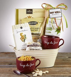 Get Well Soon Favorite Soup Basket