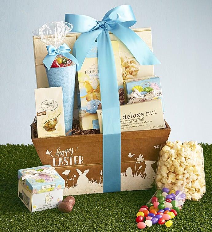 Easter Delights Gourmet Gift Basket - Easter Delights Gourmet Gift Basket