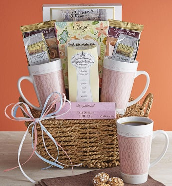 Morning Brew For Two Gift Basket - Morning Brew For Two Gift Basket