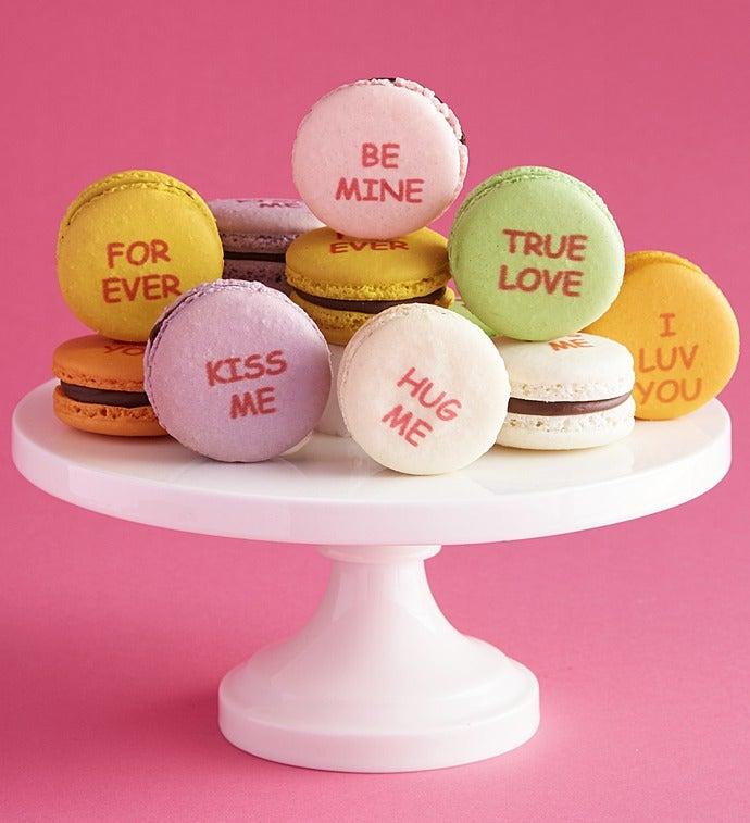 Danau0027s Bakery Valentine Conversation Macarons