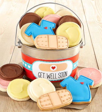 Cheryl's Get Well Soon Gift Pail