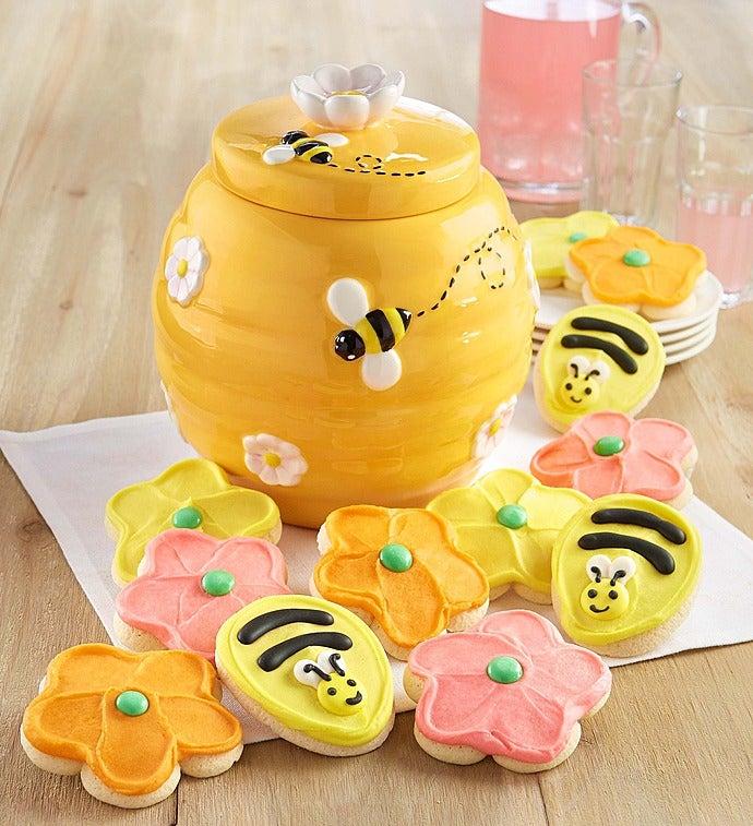 Cheryl's Bee Ceramic Cookie Jar - Cheryl's Bee Ceramic Cookie Jar