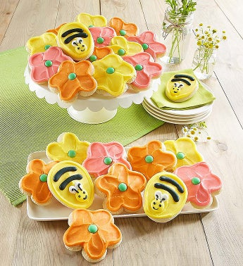 Cheryl's Frosted Flower Cut-Out Cookies - Cheryl's Frosted Flower Cut-Out Cookies - 24 Count