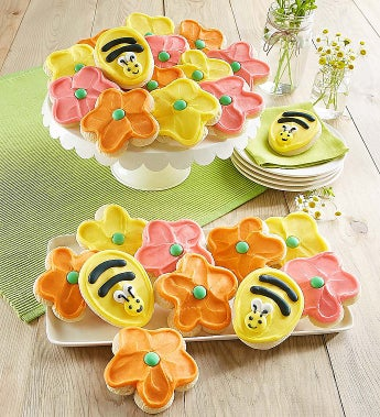 Cheryl's Frosted Flower Cut-Out Cookies - Cheryl's Frosted Flower Cut-Out Cookies - 12 Count