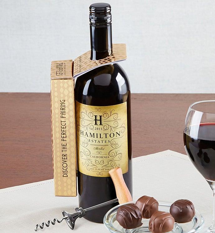 Harry London Chocolate Truffles & Wine Pairing-Harry London Chocolate Truffles & Wine Pairing