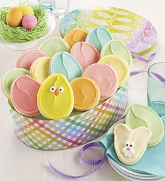 Cheryl's Easter Egg Shaped Tin with Cut-Outs