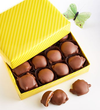 Fannie May® Spring Wrapped Pixie® Chocolates - Fannie May® Spring Wrapped Pixie® Chocolates - 1Lb