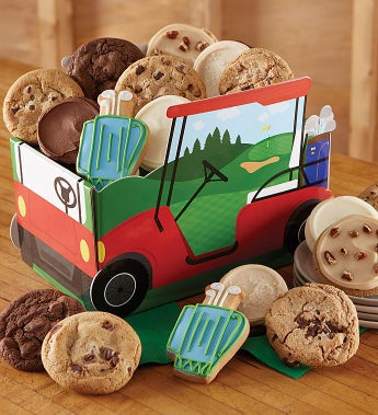 Cheryl's Father's Day Golf Cart Box With Cookies - Cheryl's Father's Day Golf Cart Box With Cookies
