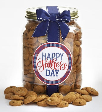 Happy Fathers Day Chocolate Chip Cookie Jar