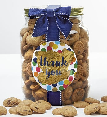 Thank You Chocolate Chip Cookie Jar