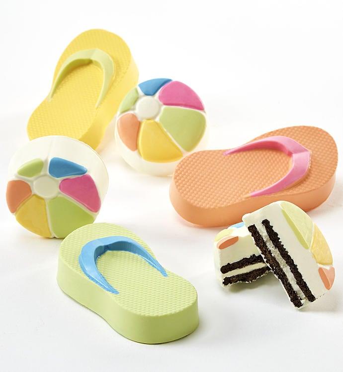 Flip Flops n Beach Balls Oreo Cookies