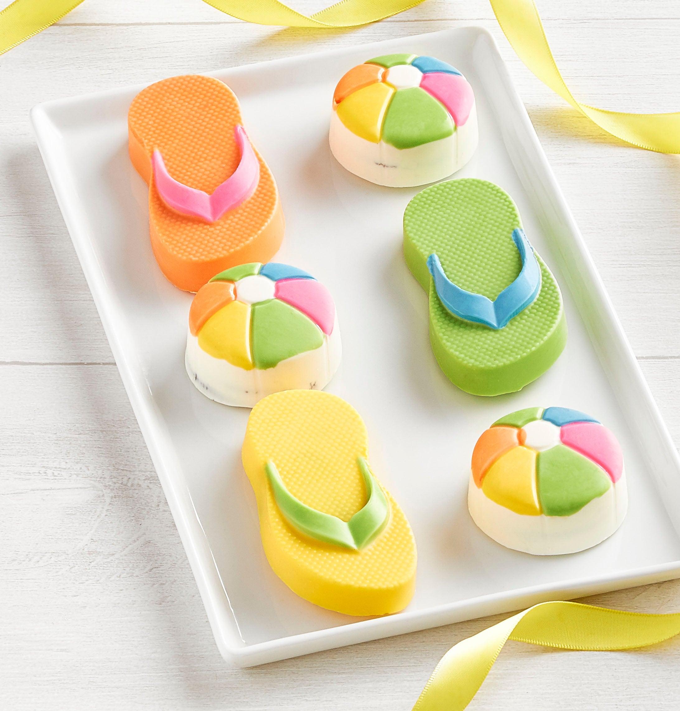 Flip Flops 'n Beach Balls Oreo® Cookies-Flip Flops 'n Beach Balls Oreo® Cookies