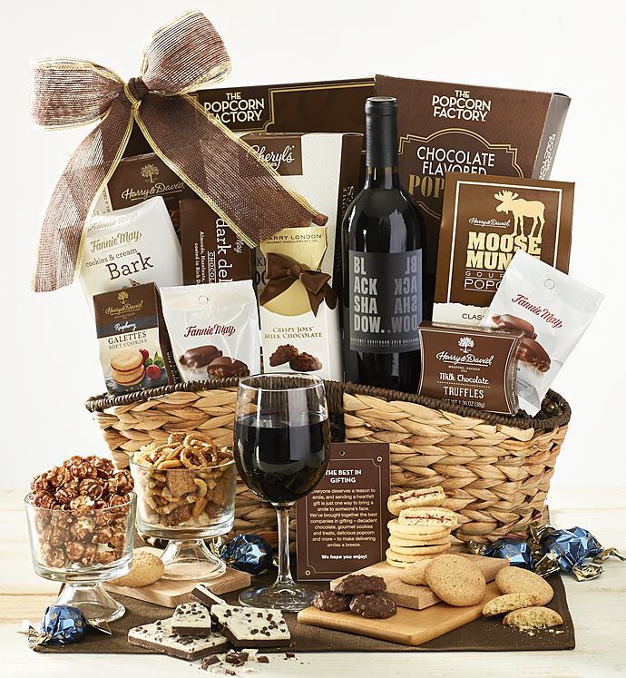 Premier favorites gift basket with wine 1800baskets premier favorites gift basket with wine negle Gallery