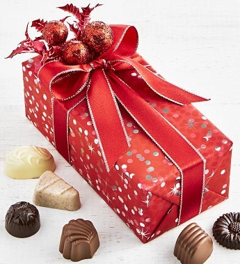 Christmas Cheer Belgian Chocolate Gift Box