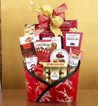 Chinese New Year W/ Love & Luck! Gift Basket