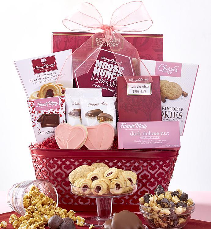 Stunning Valentine Gift Basket Contemporary - Valentine Ideas ...