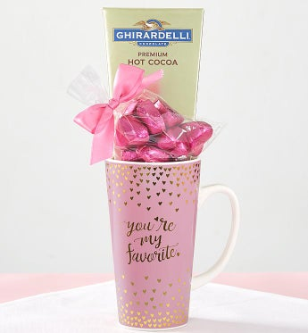 You're My Favorite! Chocolate Mug Gift