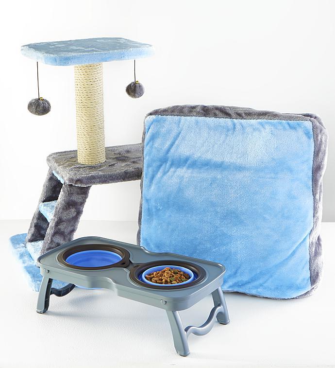 Max  Milo Sleep Play  Eat Kitty Starter Kit