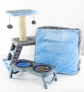 Max & Milo™ Sleep, Play, & Eat Kitty Starter Kit