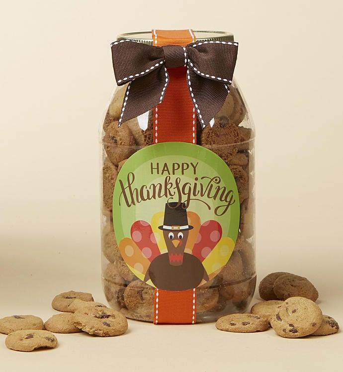 Happy Thanksgiving! Chocolate Chip Cookie Jar Jar-M by 1-800-Baskets