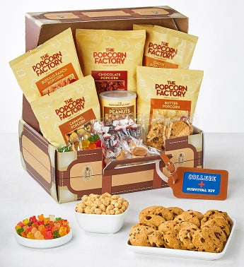 The Popcorn Factory College Suitcase Of Snacks-The Popcorn Factory College Suitcase Of Snacks