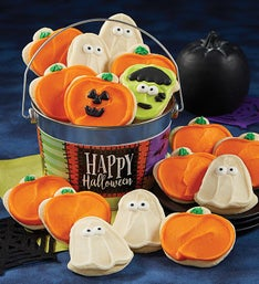 Cheryl's Happy Halloween Buttercream Cookie Pail