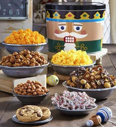 The Popcorn Factory Nutcracker Assortment Tin