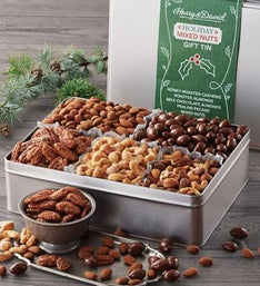 Harry & David® Holiday Nut Tin
