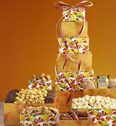 Falling Leaves Sweets  Treats Tower