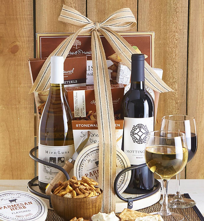 Shipped In A Gift Box Wine Baskets
