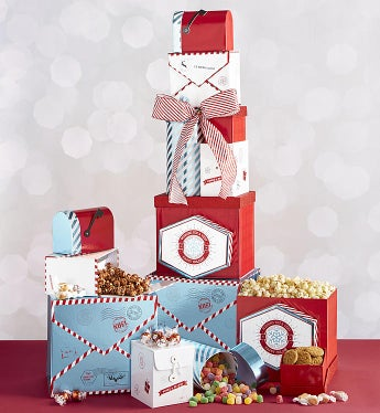 Ultimate Holiday Celebration Tower of Treats