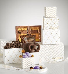 Godiva Luxurious Chocolate Collection Tower