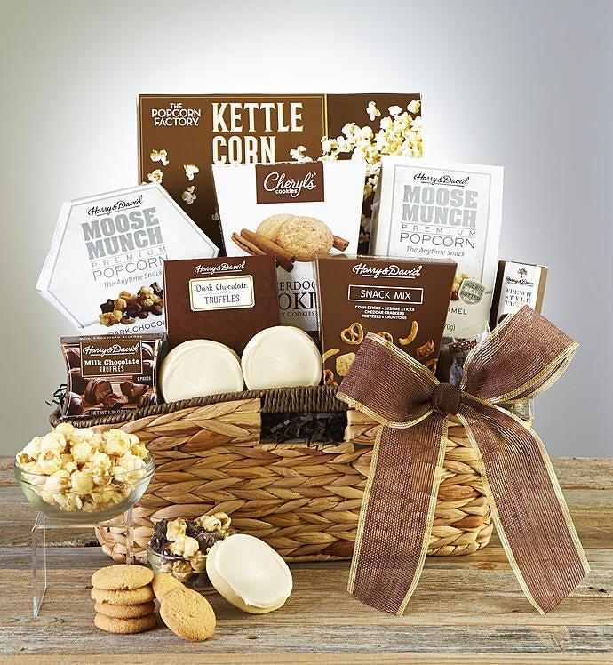 Premier Favorites Sweets  Treats Gift Basket