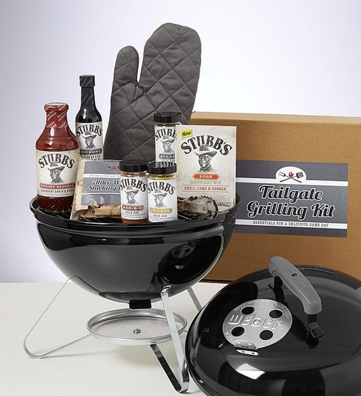 Tailgate Grilling Gift with Weber Smoky Joe® Grill