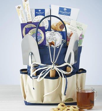 Garden Gift Tote with Tools & Treats